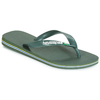 Chaussures Tongs Havaianas BRASIL LOGO Olive
