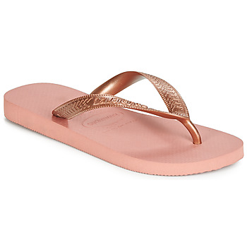 Chaussures Femme Tongs Havaianas TOP TIRAS Rose