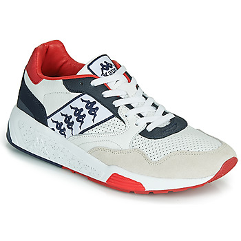 Chaussures Homme Baskets basses Kappa LUXOR 2 Blanc / Rouge