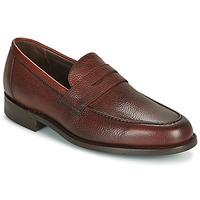 Chaussures Homme Mocassins Barker JEVINGTON Bordeaux