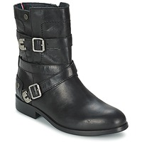Chaussures Femme Boots Tommy Hilfiger PIPER 1A Noir