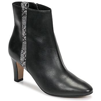 Chaussures Femme Bottines Tamaris MAFIATA Noir / Reptile
