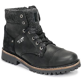 Chaussures Garçon Boots Bullboxer AHA518E6L-BLCK Noir