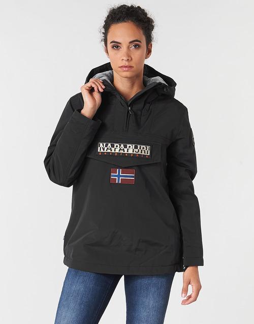 Vêtements Femme Parkas Napapijri RAINFOREST WINTER Noir