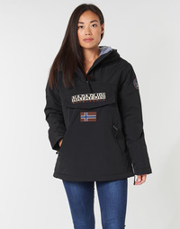 Vêtements Femme Parkas Napapijri RAINFOREST POCKET Noir