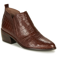 Chaussures Femme Boots Wonders E6022-COCO-MARRON Marron