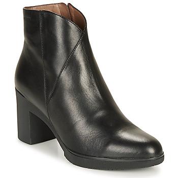 Chaussures Femme Bottines Wonders M3727-VELVET-NEGRO Noir