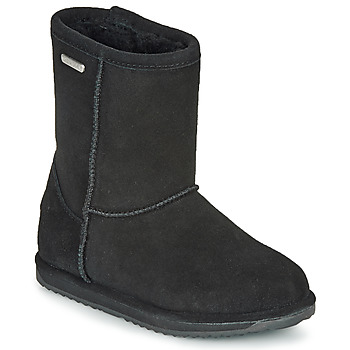 Chaussures Fille Boots EMU BRUMBY LO WATERPROOF Noir
