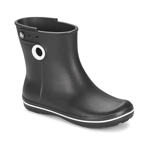 Crocs JAUNT SHORTY BOOT W-BLACK Noir - Livraison Gratuite avec  - Chaussures Bottes de pluie Femme