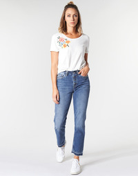 Vêtements Femme Jeans droit Pepe jeans MARY REVIVE Bleu Medium