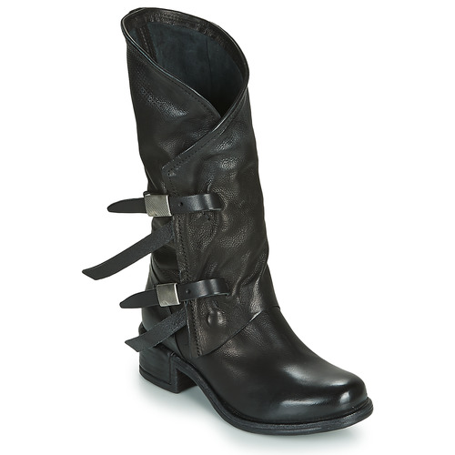 Chaussures Femme Bottes ville Airstep / A.S.98 ISPERIA BUCKLE Noir