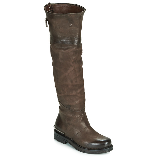 Chaussures Femme Bottes ville Airstep / A.S.98 BRET HIGH Marron