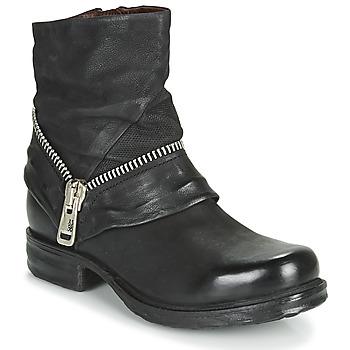 Chaussures Femme Boots Airstep / A.S.98 SAINT EC ZIP NEW Noir