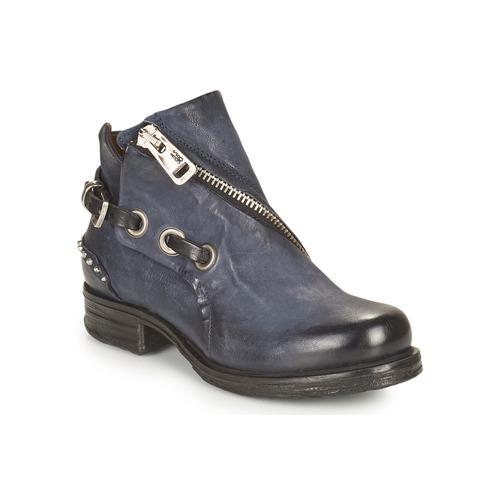 Chaussures Femme Boots Airstep / A.S.98 SAINT EC CLOU Marine