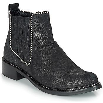 Chaussures Femme Boots Regard ROAL V1 CROSTE SERPENTE PRETO Noir
