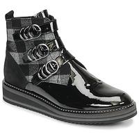 Chaussures Femme Boots Regard ROCPOL V3 VERNIS Noir