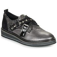 Chaussures Femme Derbies Regard ROCTALOU V1 MET Gris