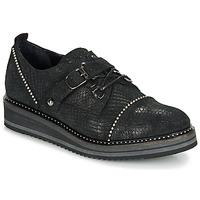Chaussures Femme Derbies Regard ROCTALOX V2 TOUT SERPENTE SHABE Noir