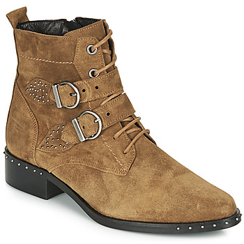 Chaussures Femme Boots Philippe Morvan SWAG V4 CRTE VEL Camel