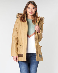 Vêtements Femme Parkas Roxy TRAVELLING WEST Marron