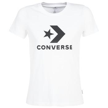 Vêtements Femme T-shirts manches courtes Converse STAR CHEVRON Blanc