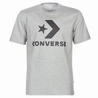 Vêtements Homme T-shirts manches courtes Converse STAR CHEVRON Gris