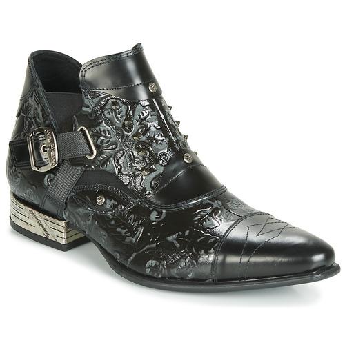 Chaussures Homme Derbies New Rock BRAVA Noir