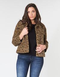 Vêtements Femme Blousons See U Soon 9262153 Leopard