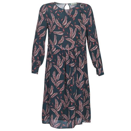 Vêtements Femme Robes longues See U Soon 9222127 Marine / Bordeaux