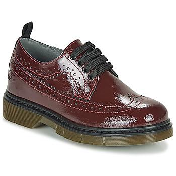 Chaussures Fille Derbies Citrouille et Compagnie LOUPIOTTE Bordeaux