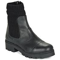 Chaussures Fille Boots Citrouille et Compagnie LOBINOUTE Noir