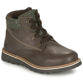 Chaussures Garçon Boots Citrouille et Compagnie HEFINETTE Marron