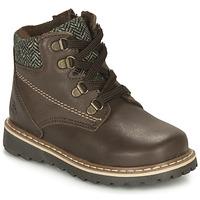 Chaussures Garçon Boots Citrouille et Compagnie LINETTE Marron