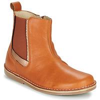 Chaussures Fille Boots Citrouille et Compagnie LARIS Camel