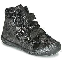Chaussures Fille Boots Citrouille et Compagnie HODIL Noir