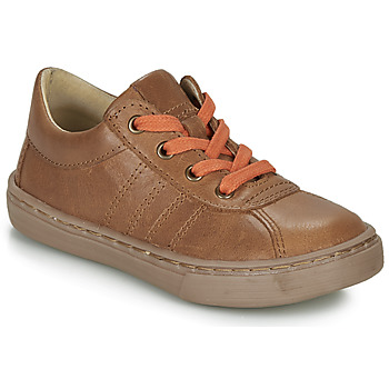 Chaussures Garçon Derbies Citrouille et Compagnie LUKITO Camel