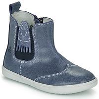 Chaussures Garçon Boots Citrouille et Compagnie LOKO Bleu