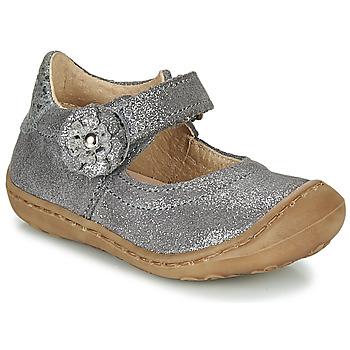Chaussures Fille Ballerines / babies Citrouille et Compagnie LASKIMA Gris