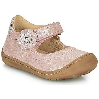 Chaussures Fille Ballerines / babies Citrouille et Compagnie LASKIMA Rose
