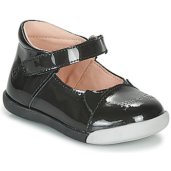 Chaussures Fille Ballerines / babies Citrouille et Compagnie LAKALA Noir