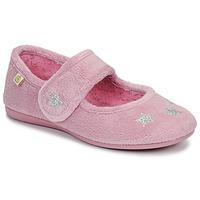 Chaussures Fille Chaussons Citrouille et Compagnie LANINOU Rose