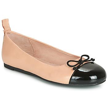 Chaussures Fille Ballerines / babies Citrouille et Compagnie LIOGE Nude / Noir