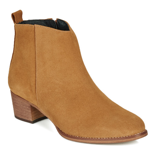 Chaussures Femme Boots So Size MARTINO Camel