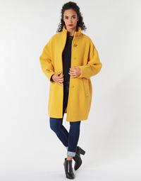 Vêtements Femme Manteaux Benetton STORI Jaune