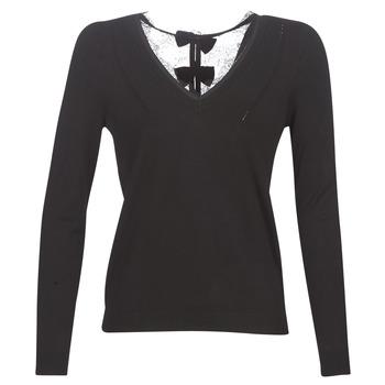 Vêtements Femme Pulls Naf Naf MITOU LONG NEW Noir