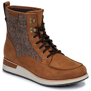 Chaussures Femme Boots Merrell ROAM MID Marron