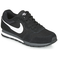 Chaussures Homme Baskets basses Nike MD RUNNER 2 Noir / Blanc