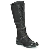 Chaussures Femme Bottes ville Mjus CAFE HIGH Noir