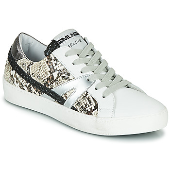 hot sale online ec682 d266e Chaussures Femme Baskets basses Meline Blanc   Phyton