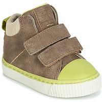 Chaussures Garçon Baskets montantes Gioseppo ERDING Taupe